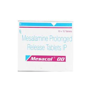 Mesacol OD 1.2 gm Mesalamine Tablets