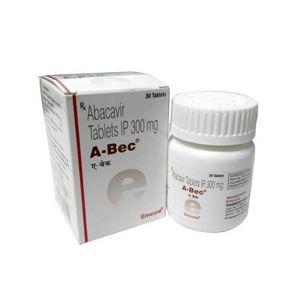 A-Bec 300mg Abacavir Tablet