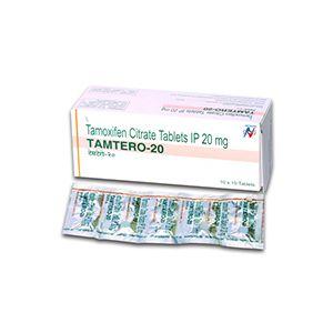 Tamtero 20mg Tamoxifen Tablet