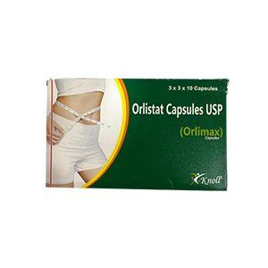 Orlimax 120 mg Orlistat Capsule