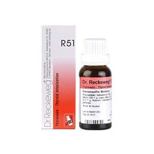 Dr. Reckeweg R51 Thyroid Intoxication Drop