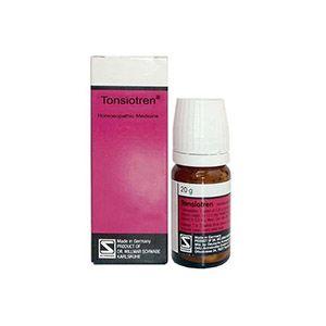 Dr Willmar Schwabe Germany Tonsiotren Tablet