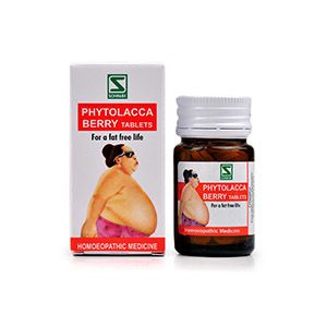Dr Willmar Schwabe Phytolacca Berry Tablet