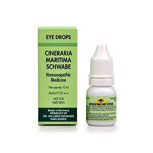Dr Willmar Schwabe Germany Cineraria Maritima Eye Drop Homeopathic Medicine