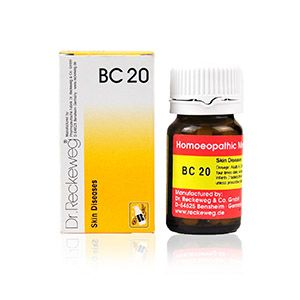 Dr. Reckeweg Bio-Combination 20 (BC 20) Tablet