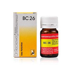 Dr. Reckeweg Bio-Combination 26 (BC 26) Tablet