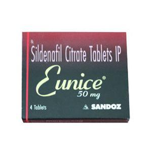 Eunice 50mg Sildenafil Tablet