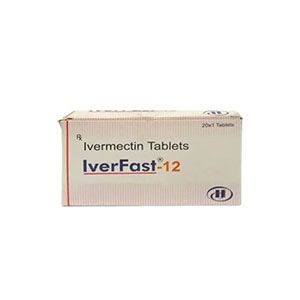 Iverfast 12mg Ivermectin Tablet