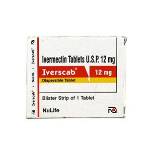 Iverscab 12mg Ivermectin Tablet