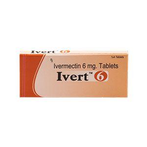 Ivert 6mg Ivermectin Tablet