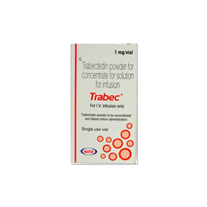 Trabec : Trabectedin 1 mg Injection