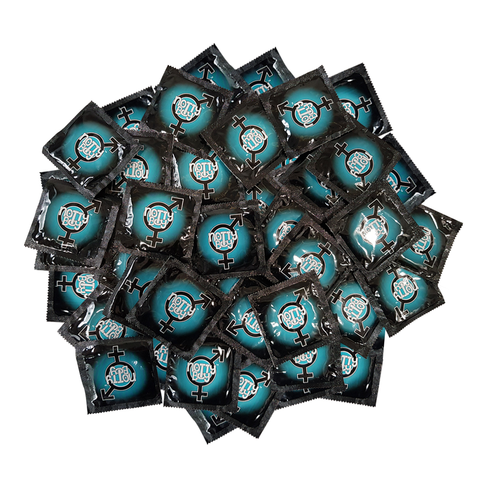 NottyBoy Ultra Sensitive Lubricated Regular Plain Thin Condoms For Comfort Fit, 500 Count