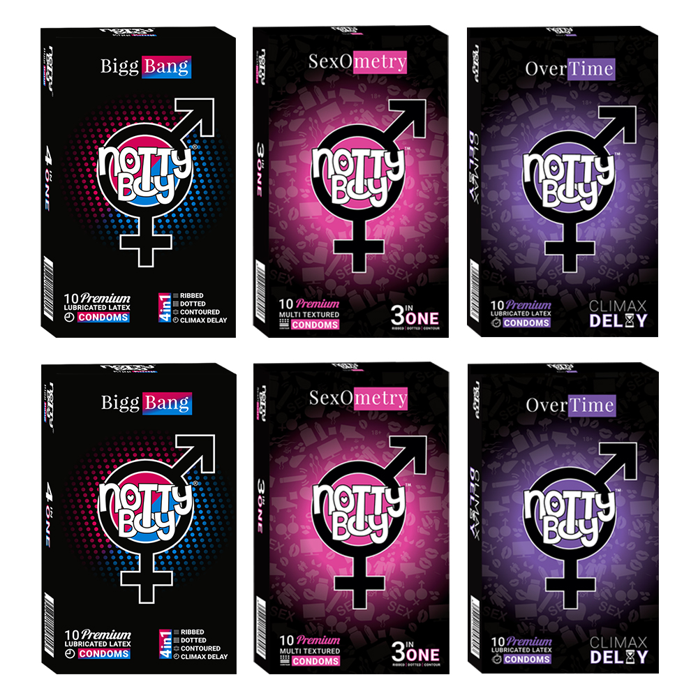 NottyBoy Condoms Pack of 2000 Count