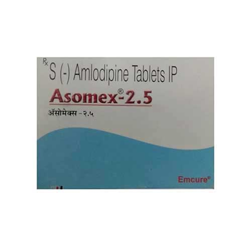 Asomex-TM 2.5mg/40mg Tablet