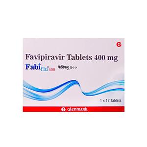 Fabiflu 400mg Favipiravir Tablet