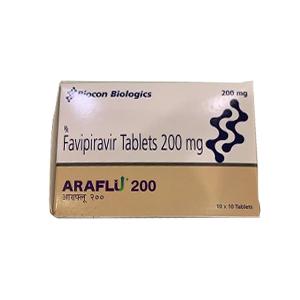 Araflu Favipiravir 200mg Tablet