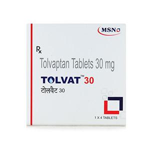 Tolvat 30mg Tolvaptan Tablet