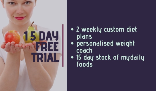 What is myDaily's 15 Day Weight loss plan trial?