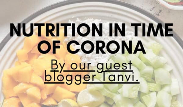 Nutrition in time of Corona