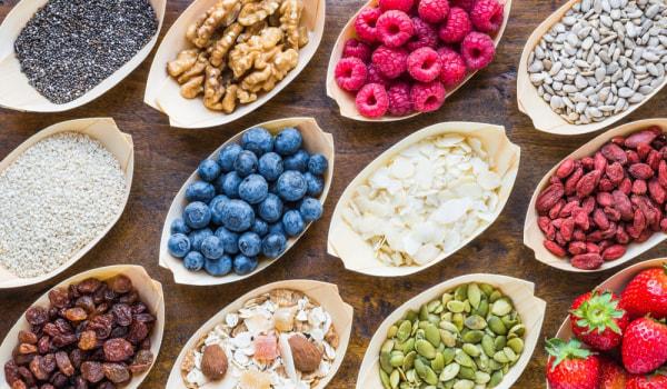 Immunity building foods