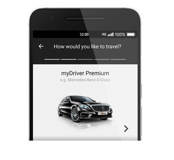 Car Service App | Download The App | Sixt mydriver