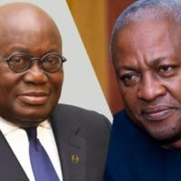 Learn to control your temper – Mahama to Akufo-Addo
