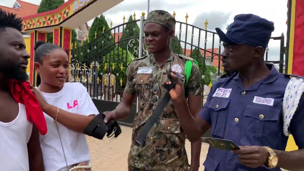 KUMERICA POLICE CHECKING BUDO ON BORDER LINE BEFORE ENTRY