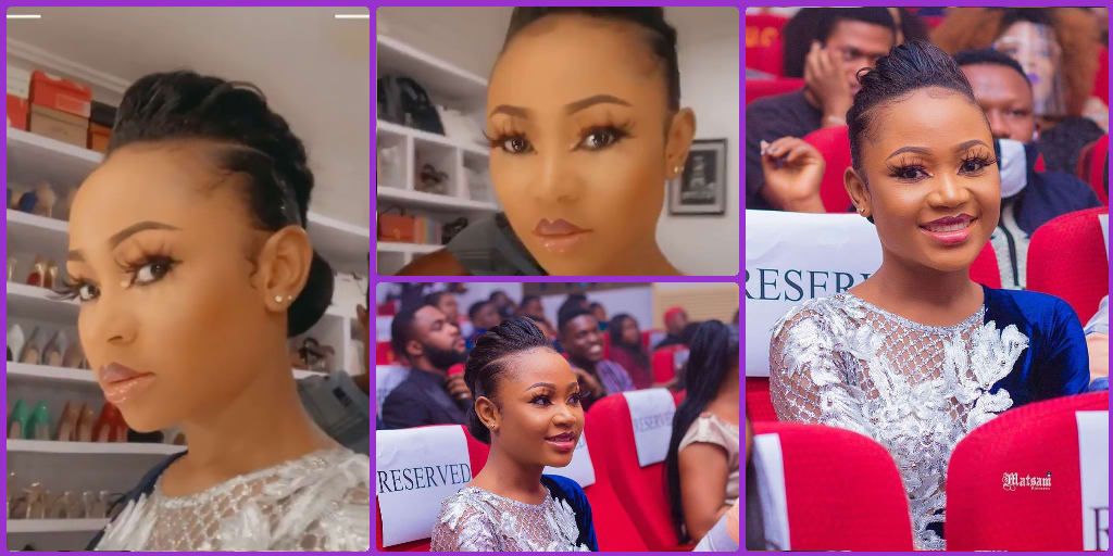 Akuapem Poloo Glowing In An Unmatched Make-Up Looks