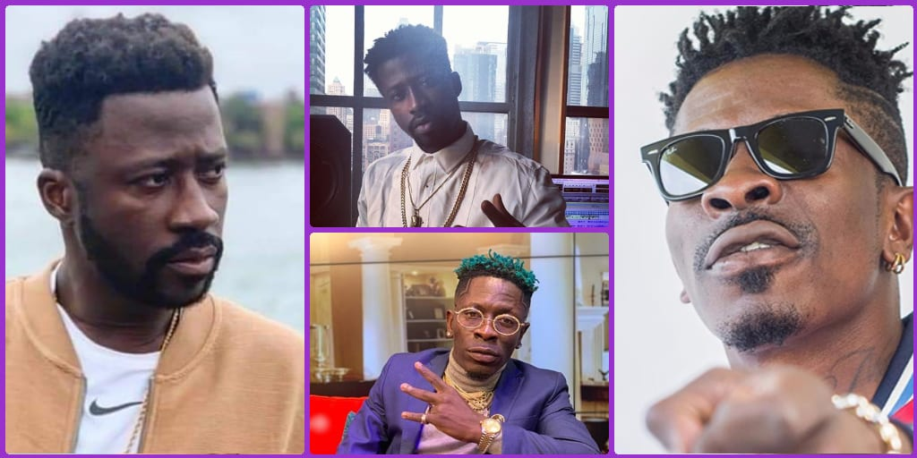 ASEM Mocks Shatta Wale Running Off The Stage During The Asaase Sound Clash