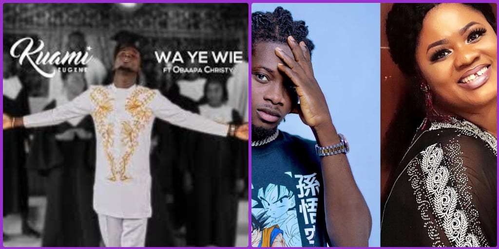 Kuami Eugene Releases His First Gospel Track Featuring Obaapa Christy...Check It Out!