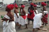 Ga Traditional Women storm Despite Media over Mzbel's fraud allegation