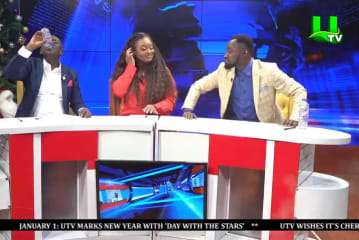 Jackie Appiah, Funny Face, Akrobeto Read News || UTV Day With The Stars (01/01/2021)