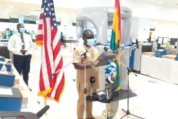 US presents security equipment to Ghana Airport Company