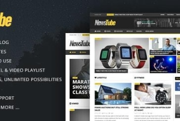 NewsTube 1.5.3.0 – Magazine Blog & Video WordPress Theme