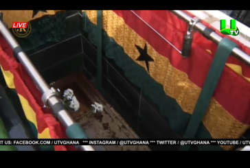 Livestream: Burial Service Of Rawlings At The Independence Square
