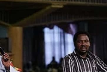 Video of late Atta Mills delivering a sermon at T.B Joshua's Church surfaces