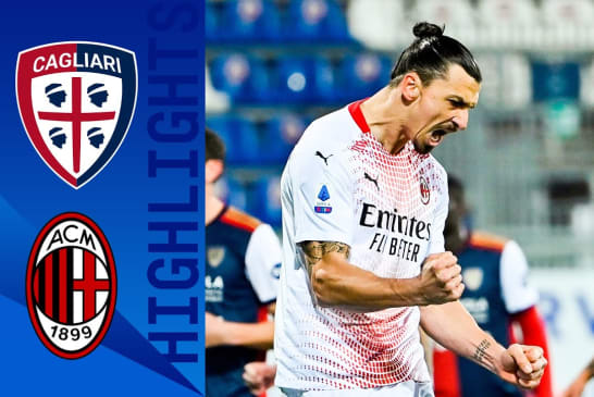 Highlight: Cagliari 0-2 Milan - All Goals