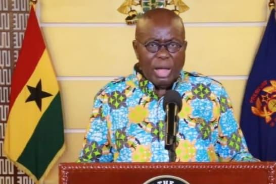 FULL TEXT: President Akufo-Addo's 22nd address on coronavirus pandemic
