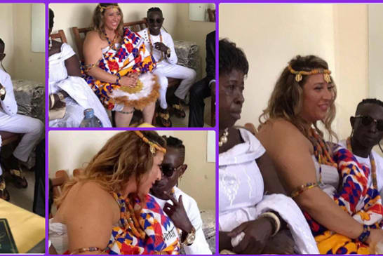 Patapaa Marries His White Girlfriend - Pictures Dropped