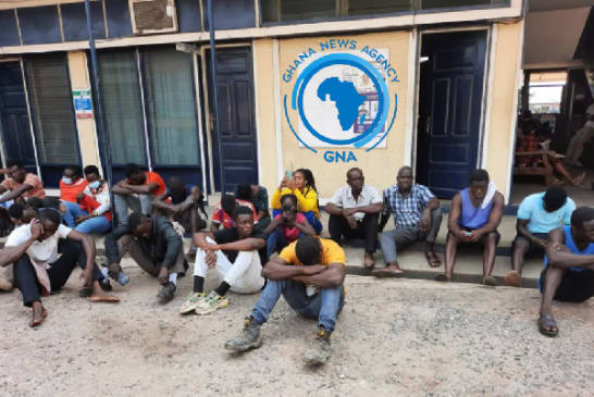 Police arrest 105 persons in Tema for not wearing face mask
