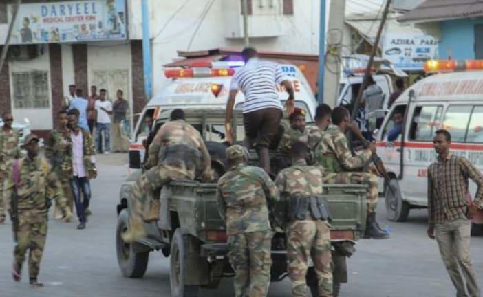 Nine dead' in hotel attack in Somali capital