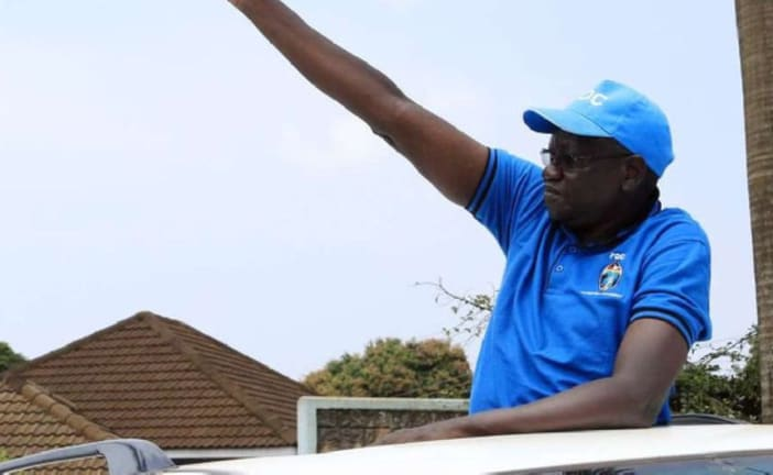 Uganda's opposition presidential candidate arrested over traffic offence