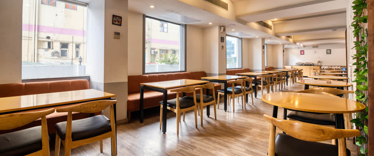 OYO Townhouse Cafe Curryhut - Quiet Work Friendly Cafe With