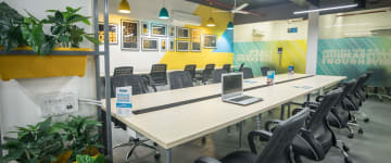 workspace provided by myHQ in Nehru Place