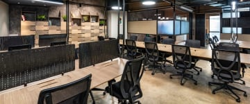 workspace provided by myHQ in Koramangala