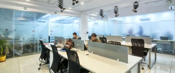 workspace provided by myHQ in West Delhi