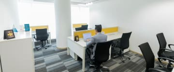 workspace provided by myHQ in Marathahalli
