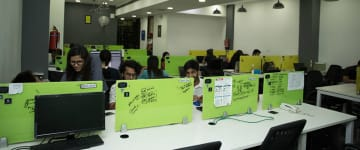 workspace provided by myHQ in Connaught Place