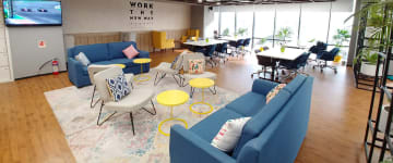 workspace provided by myHQ in Whitefield